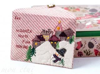 [手作教學] 布信封 - 給耶誕老人的信