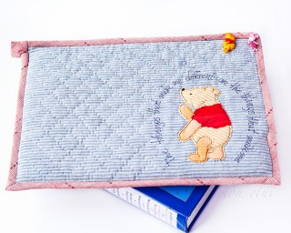 [手作教學]  維尼小熊 - 手作電腦包
