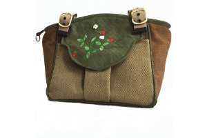 甜心草莓 氣質手提、肩背三層包/材料包